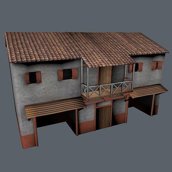 Roman Building 2 - 3DOcean Item for Sale