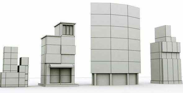 City Building 3 - 3DOcean Item for Sale