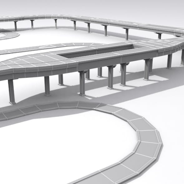 Road And Highway Set - Base