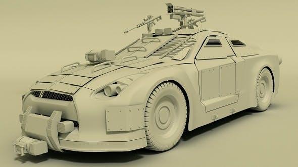 Nissan GTR - 3DOcean Item for Sale