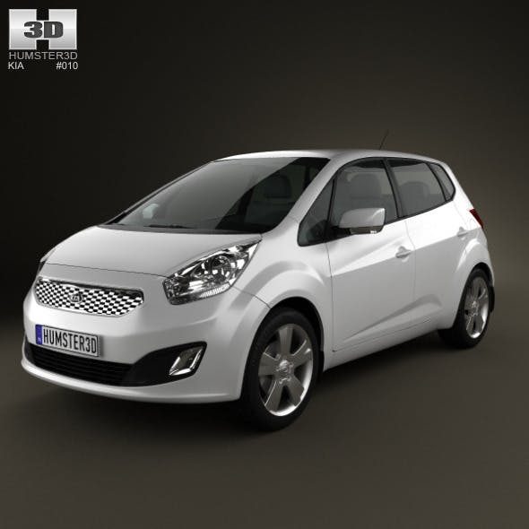 Kia Venga 2011 - 3DOcean Item for Sale