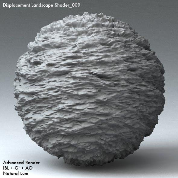 Displacement Landscape Shader_009 - 3DOcean Item for Sale