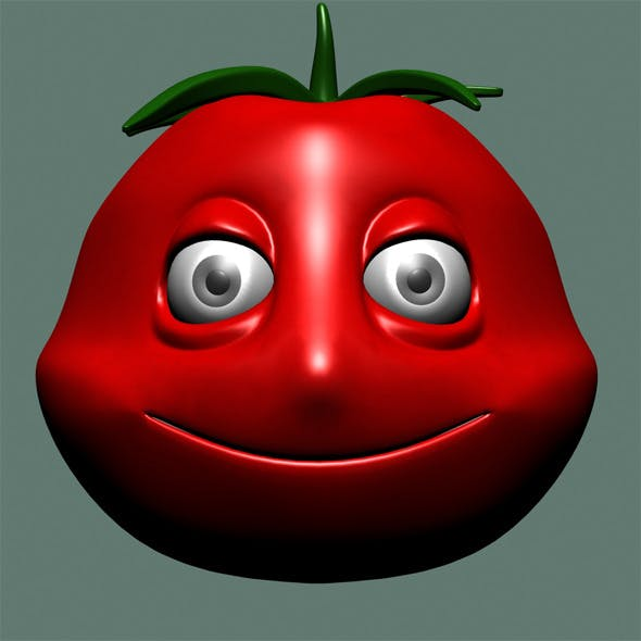 Tomato Character - 3DOcean Item for Sale