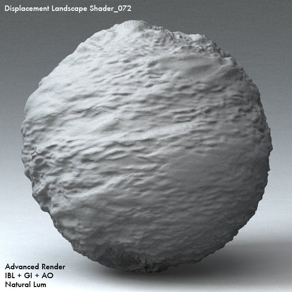 Displacement Landscape Shader_072 by 4096 | 3DOcean