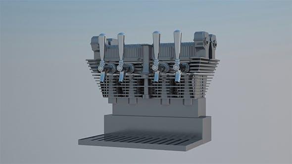 Engine Beer Pump - 3DOcean Item for Sale