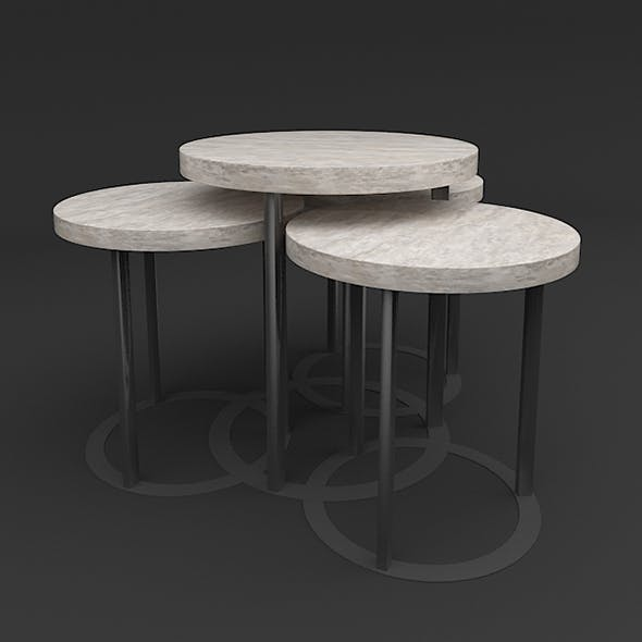 Designer Side Table Set