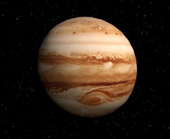 Planet Jupiter - 3DOcean Item for Sale