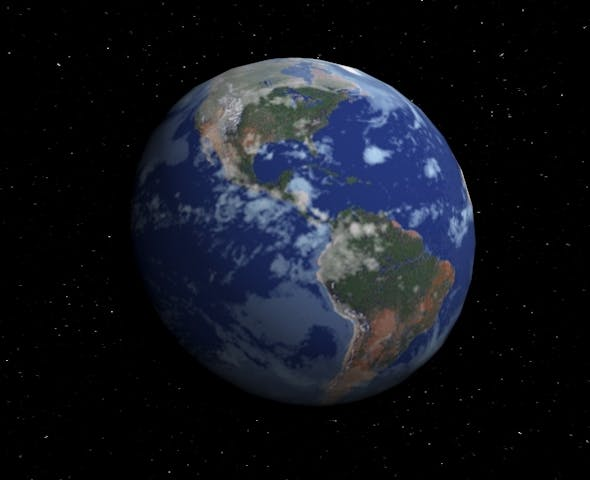 Planet Earth - 3DOcean Item for Sale