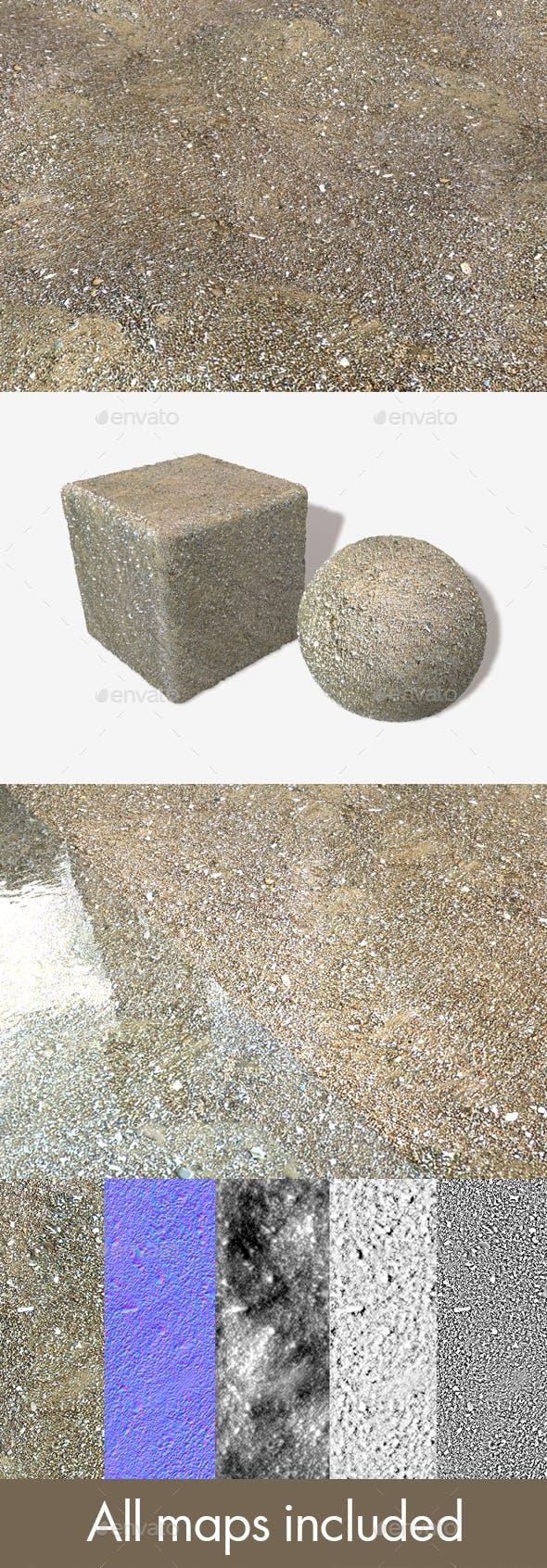 Damp Beach Seamless Texture - 3DOcean Item for Sale