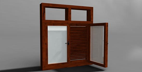 Window  - 3DOcean Item for Sale