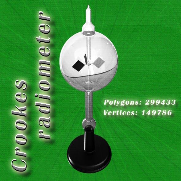 Crookes radiometer (light mill)