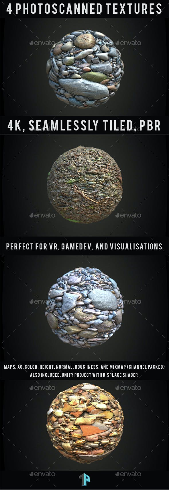 Photoscanned! - Texture Set#1 - 3DOcean Item for Sale