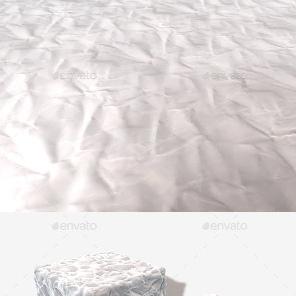 Crumpled Paper Seamless Texture