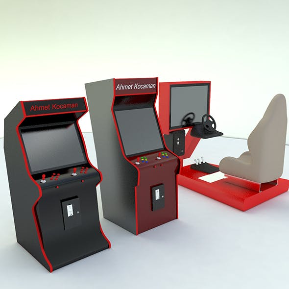 Commercial arcade machine