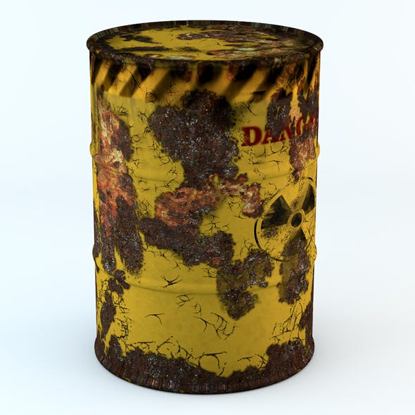 Model rusty barrel