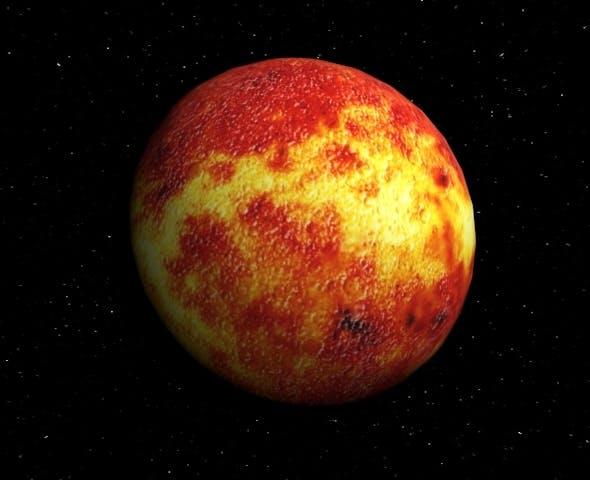 Planet Mercury - 3DOcean Item for Sale