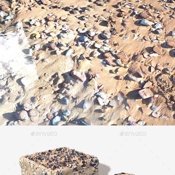 Stony Beach 01 Seamless Texture