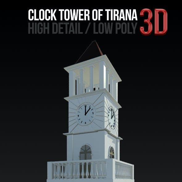 Clock Tower of Tirana