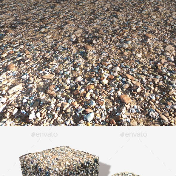 Stony Beach 03 Seamless Texture