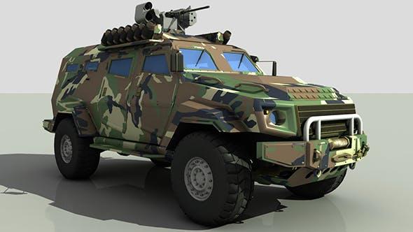 Turkish Armored Car Cobra - 3DOcean Item for Sale