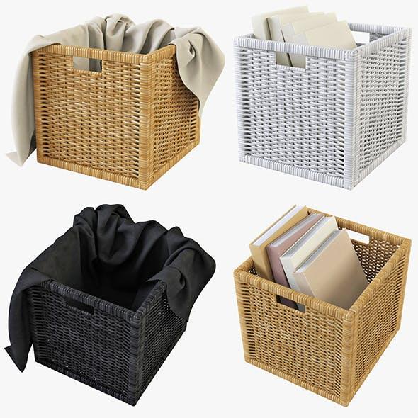 Rattan Basket Ikea Branas