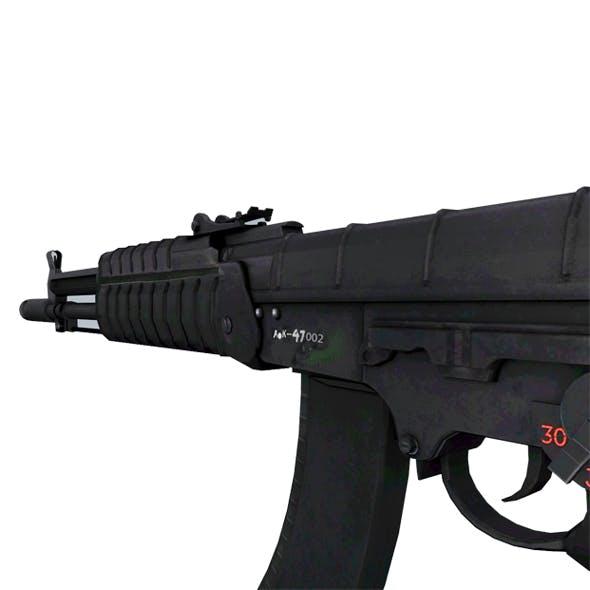 Low ploy Gun AK 47