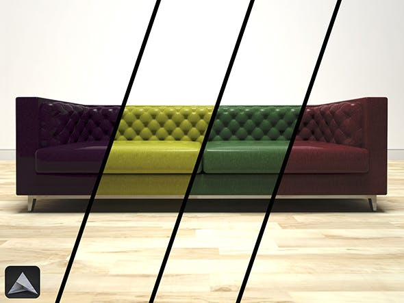 Chester Sofa Various Colours - 3DOcean Item for Sale