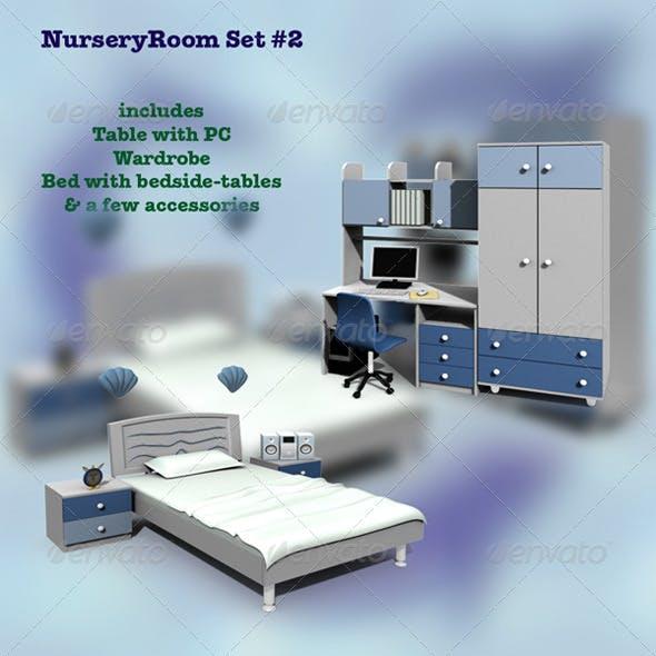 Nursery Room 2 - 3DOcean Item for Sale