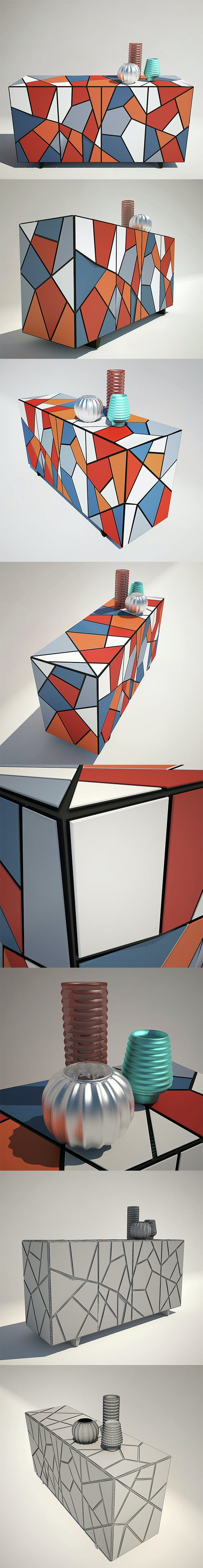 Chest Kare Design - 3DOcean Item for Sale