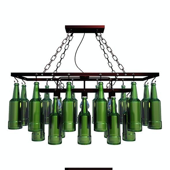 Pendant Lamp Beer Bottles