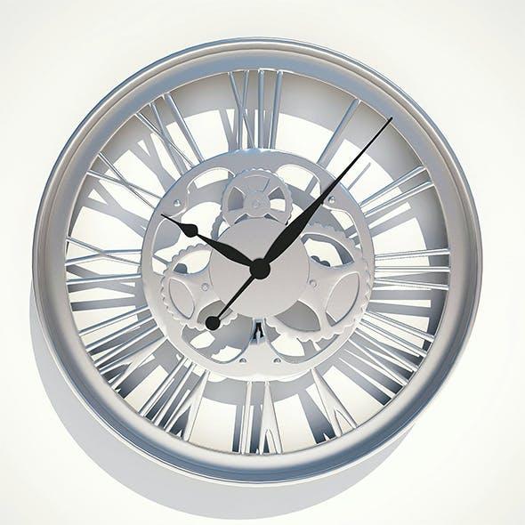 Wall Clock Gear Kare Design