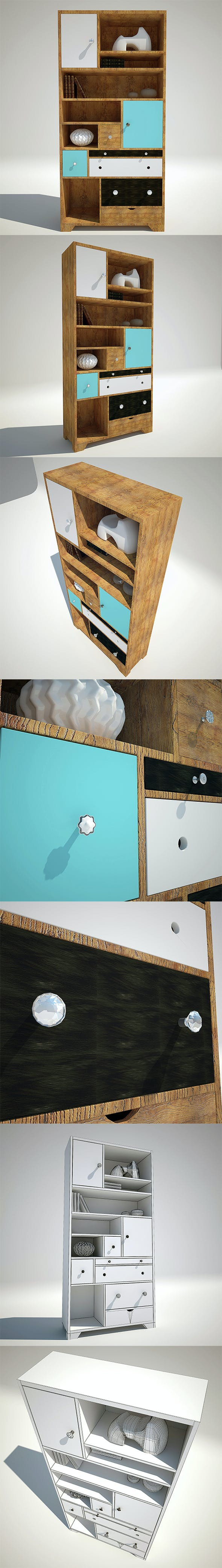 DESIGN REGAL BABALOU 191X90CM Kare Design - 3DOcean Item for Sale