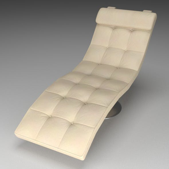 Leather Lounger - 3DOcean Item for Sale