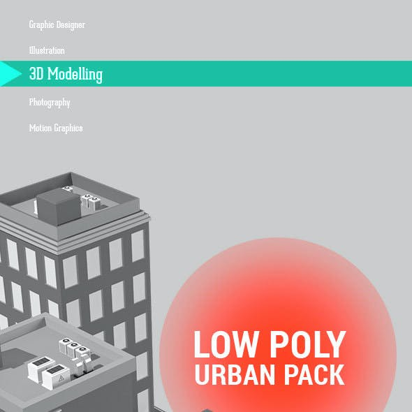 Low Poly urban pack