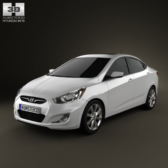 Hyundai Accent (i25) Sedan 2012