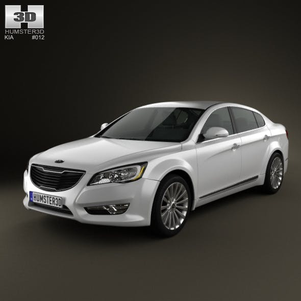 Kia Cadenza (K7) 2012 - 3DOcean Item for Sale
