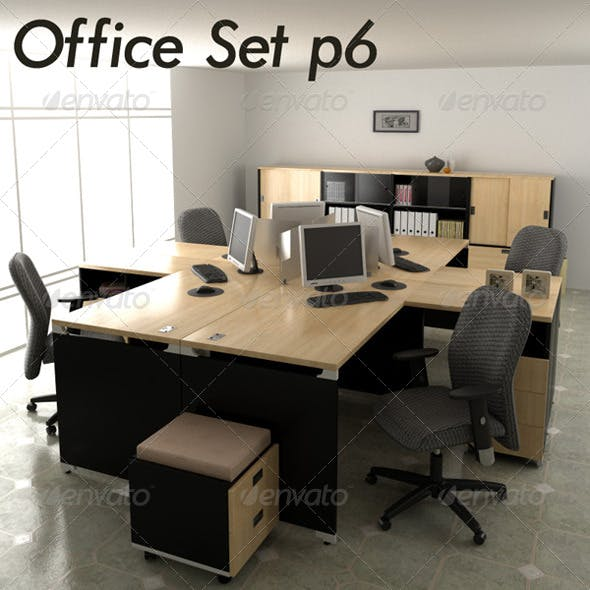 Office set p6 - 3DOcean Item for Sale