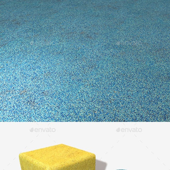 Playground Safety Flooring, Seamless Texture x2