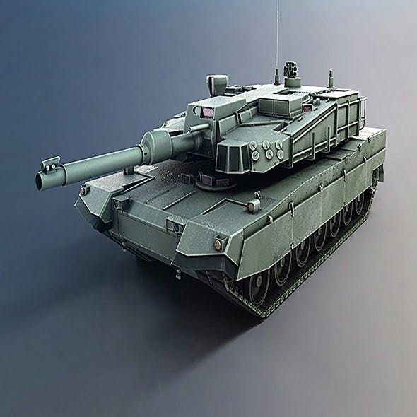 tank - 3DOcean Item for Sale