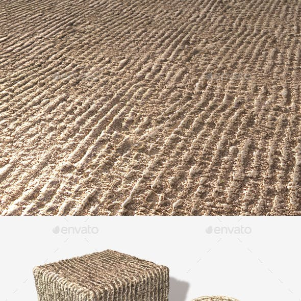 Raked Garden Sand Seamless Texture