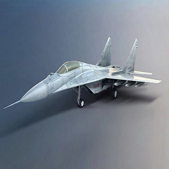 fighter jet - 3DOcean Item for Sale