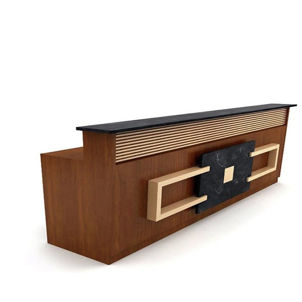 Reception Office - 3DOcean Item for Sale