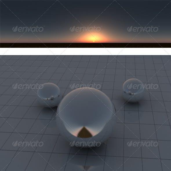 Dust sunset - 3DOcean Item for Sale