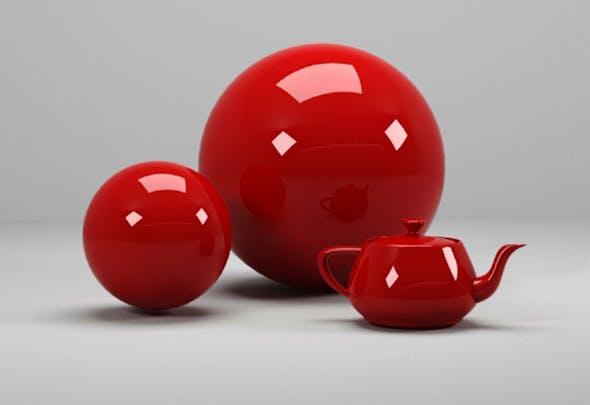 plastic materials - 3DOcean Item for Sale