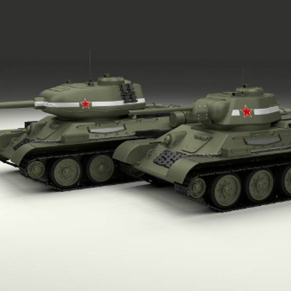 T-34 76/85 Pack