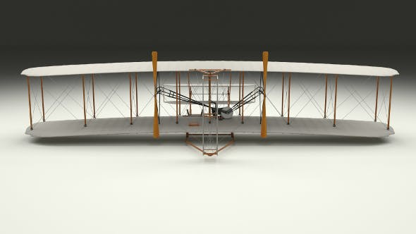 Wright Flyer 1903 - 3DOcean Item for Sale