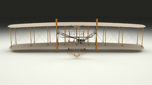 Wright Flyer - 3DOcean Item for Sale