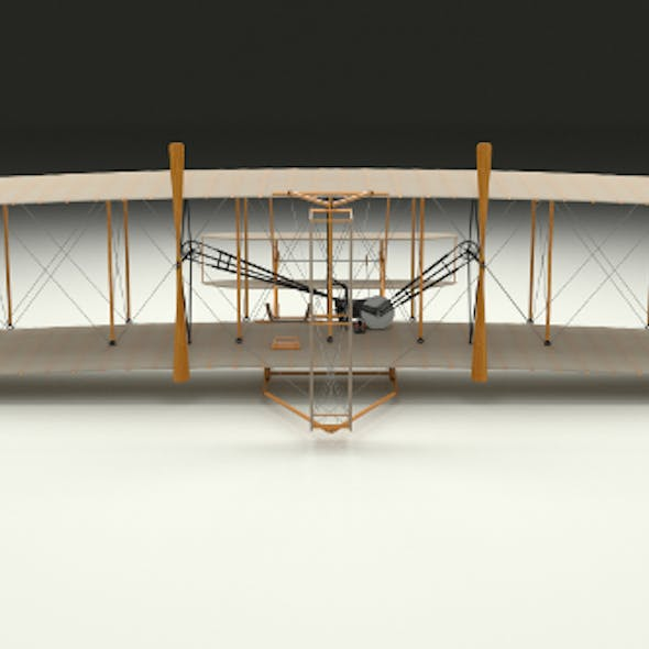 Rigged Wright Flyer