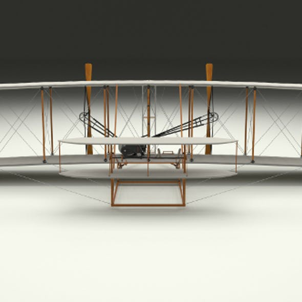Animated Wright Flyer 1903