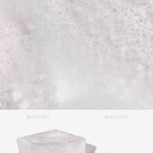 Bubble Bath Water Seamless Texture